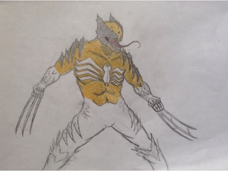 The Wolverine Symbiote by SnipertrooperX