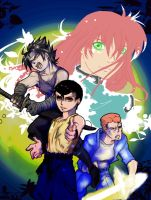 YYH -cover- :poster: by beaver92