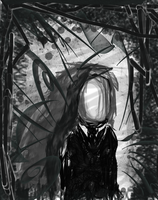 Slenderman by jecnaruto