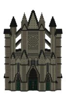 Minecraft Westminster Abbey by skysworld
