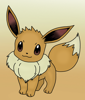 Eevee Drawing by MrSouthBay