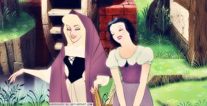 Aurora/Snow White by angeelous-dc