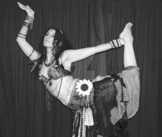 Tribal bellydancer Katie by poisonous-tears
