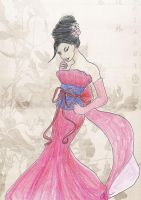 Designer Dress, Mulan by Jenniej92