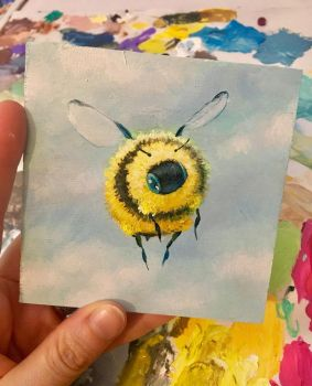 Monday bee by camilladerrico