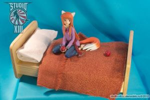 Holo on bed garage kit figure (Spice and Wolf) by Michael-XIII
