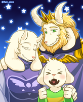 Dreemurr Family by RainPiece