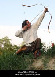 Hungarian Archer 8 by syccas-stock