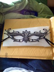 My Masquerade Mask by 4evaAFanGirl