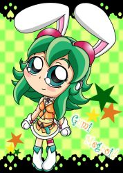 Chibi bunny gumi by drinkyourvegetable
