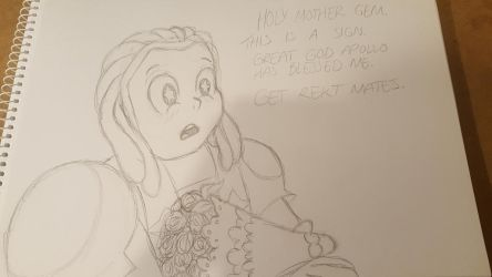Bismuth Catches the Bouquet by STAR1518jb