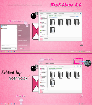 Tema Win7-Shine 2.0 , Edited by Sofithaax by SofithaaxTutoriales