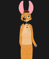 Randy the rabbit! by tinycloud247