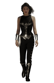 Donna Troy (Conor Leslie) - Transparent! by Camo-Flauge
