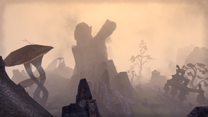 ESO Mushroom, Fog, and Rock Structure by Kohlheppj13