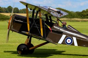 Royal Aircraft Factory S.E.5a (Original) by Daniel-Wales-Images