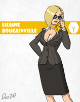 Character bio - Liliane by OmegaDez