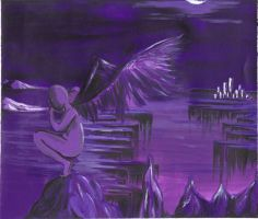 Purple Sorrow by xForEverInMyDreamsx
