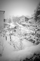 It's snowy in sunny Italy by CAFxX