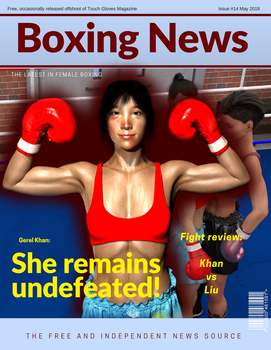 Boxing News Issue 14 by suzukishinji