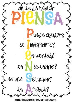 Piensa by macurris