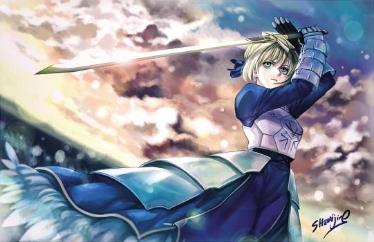 Saber by Shumijin