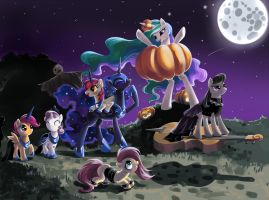 Halloween.Over the Hills and Far Away by fantazyme