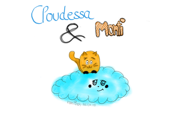 Cloudessa and Monti by namiineh