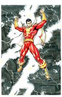 Shazam aka Captain Marvel by RAHeight2002-2012