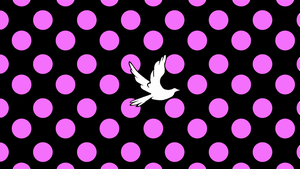 Polka Dot Dove by Mikeyj110