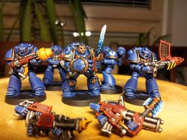 Space Crusade: Ultramarines by Wanhus