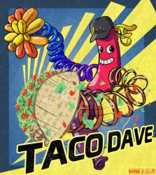 #TacoDaveForARMS contest entry by Minks-Art