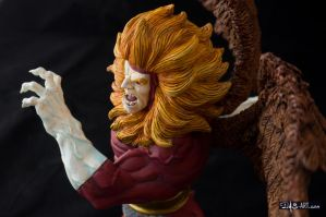 [Garage kit painting #09] Griffin bust - 024 by DasArt