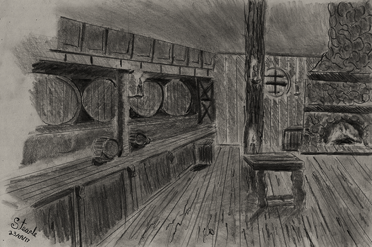 Pirate tavern by SulaimanDoodle
