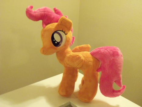 Scootaloo Plushie by SweetwaterPony