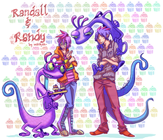 MU: Randall n Randy :: by makiyan