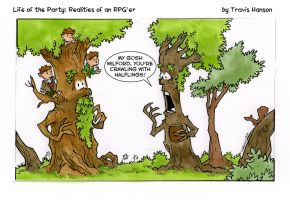 halfling infestation... rpg comic by travisJhanson