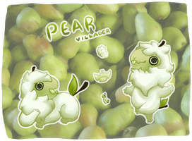 Pear Villager by Plantpedia