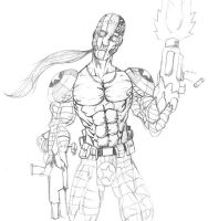 Savage Dragon - Superpatriot by ntholden