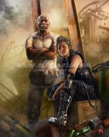 Silver:Pryor and Calloway by scarypet