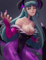 Morrigan by SteveMillersArt