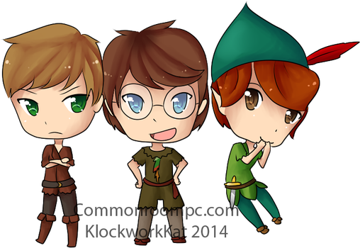 Peter Pans! by KlockworkKat