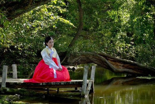 Korean Traditional clothes by HQOCPS