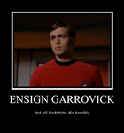 Redshirt Poster by Rahal-Stmin