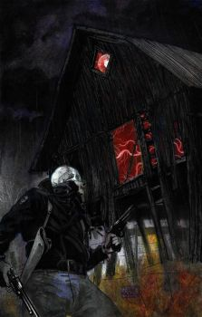 The Haunted Barn by Roguehill