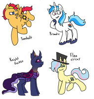 Random 'Ship' Pony Adopts (CLosed) by SparkleBloomSwirl