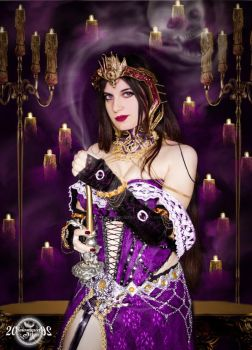 Impending doom- Liliana of the Veil cosplay