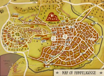 Pampeligosse (city map) by theSuricateProject