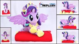 Starlight Glimmer Princess Plush by nekokevin