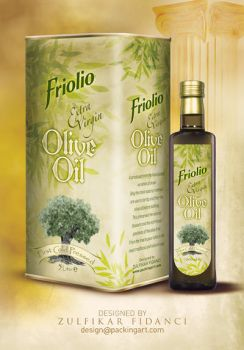 Friolio Oliveoil Packaging by byZED